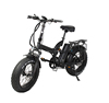 20 inch electric beach cruiser folding portable bicycle beach cruiser electric bike 48v 500w