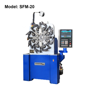 automated 3D wire CNC Spring Forming Machines for spring making and wire forming coil