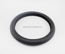 Black Soft Silicon Skidproof Odorless Universal Car Auto Steering Wheel Cover
