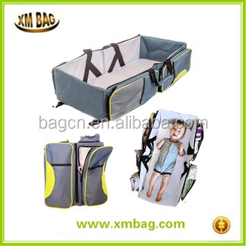 3 in 1 Best selling portable foldable lazy baby sleeping bed baby diaper bags