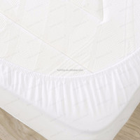 2016 New Amazon Best Seller Ultra Thin four-way stretch Fitted Sheet Style Tencel Waterproof Mattress Protector
