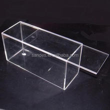 Lucite Plexiglass Holder Acrylic Candy Display Box with Removable Lid