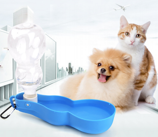 SCD-5-PC015 Portable Water Bottle Feeder 250ML 500ML Pet Dog Drinking Outdoor Carrier Water Bottles