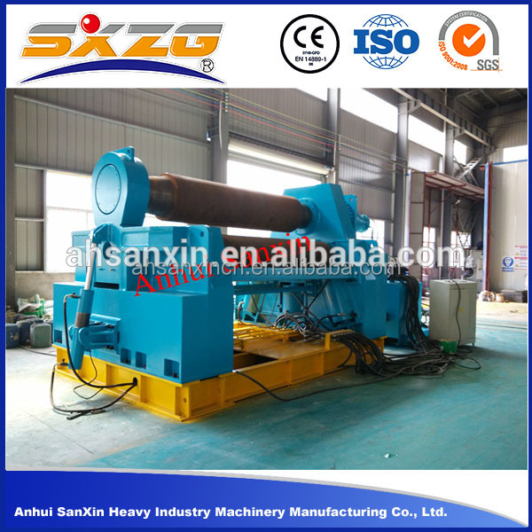 W12NC-30*2000 4-roller rolling machine, iron rolling machine, roll forming machine
