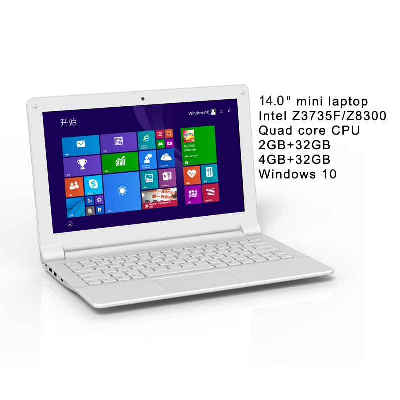 white and black colorful mini laptops with oem service for education project
