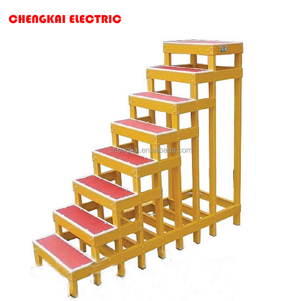 FRP GRP electric Insulation stool High and low stool bench
