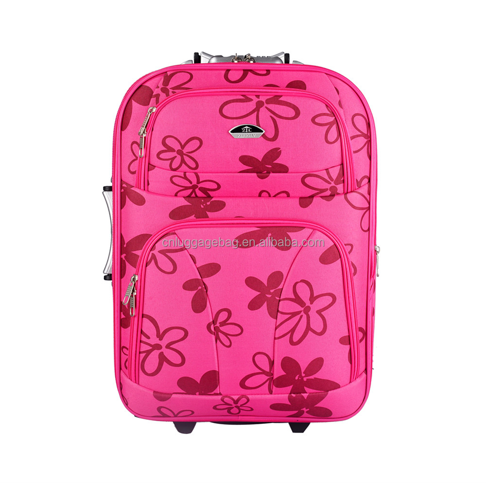 Pink Flower Suitcase | Luggage And Suitcases