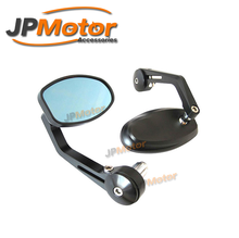 JPMotor CNC Mirrors Motorcycle Bar End For Sports Bike
