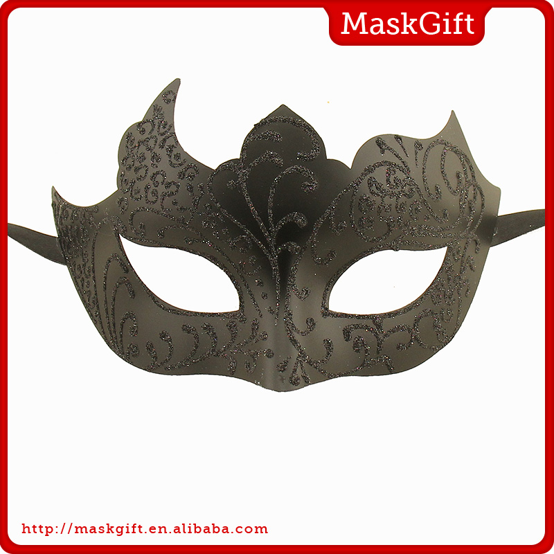 Cool design black eye mask carnival masquerade party mask
