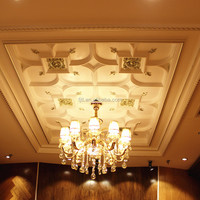 Coffered ceiling polystyrene decorative ceiling tiles made in China