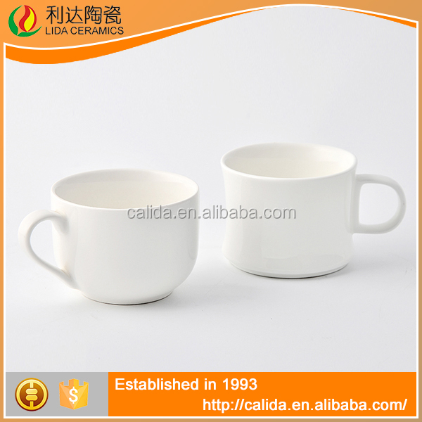 Modern design good quality white ceramic LD11857 ceramic blank coffee mugs wholesale made in China
