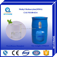 Chinese Supplier Methyl Methacrylate Monomer 80-62-6