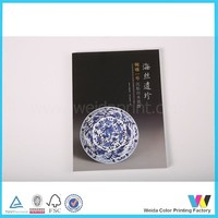 China factory printing book wholesale for porcelain