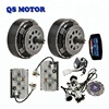 QS 273 8000W 72V Electric Car Hub Motor Conversion Kit, 16kw Car Hub Motor and Kelly Controller KLS7275H with Regenerative Brake