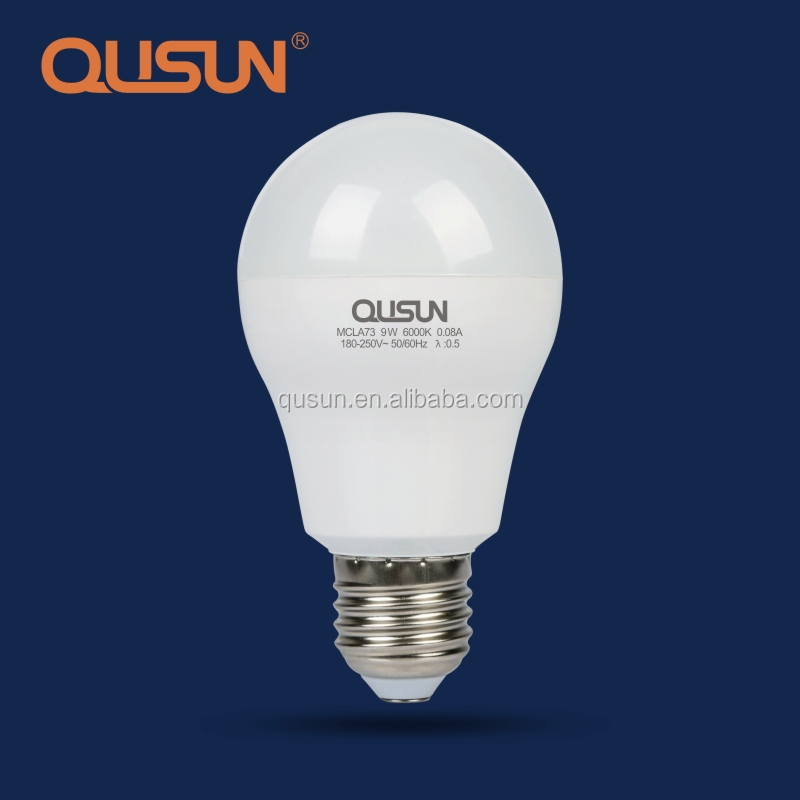 110v E27 Led Light Bulb, 9 Watt Led Bulbs Manufacturer in Zhongshan in China