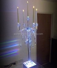 Hanging Wedding Crystal Candelabra Centerpieces Wholesale for event
