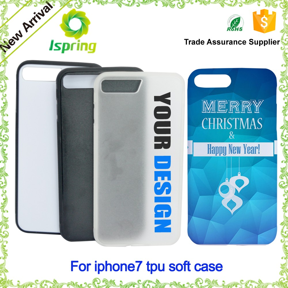 Hard plastic custom logo phone cover, for iPhone 7plus Custom Printed Phone Case with full color Printing OEM/ODM