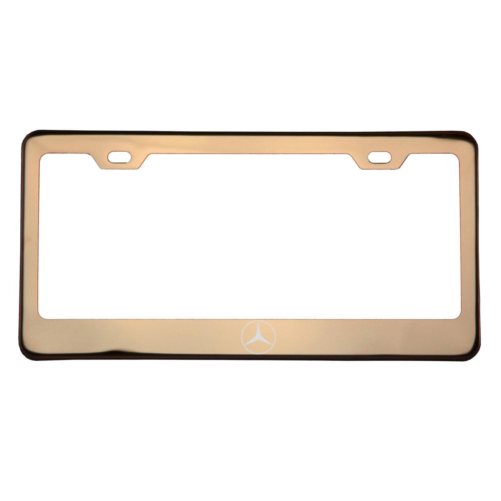 Amazoncom mercedes license plate