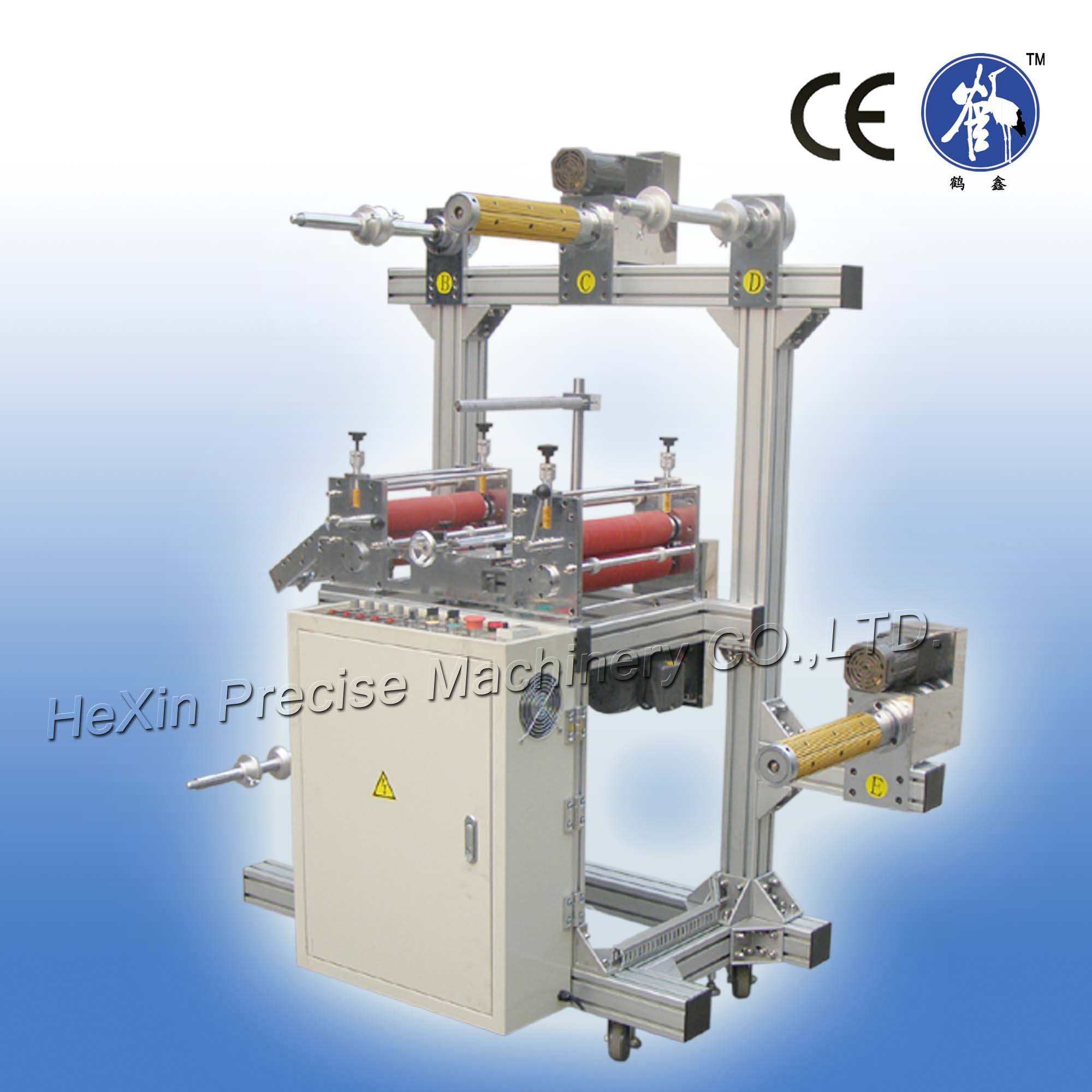5 shafts copper foil Laminating Machine