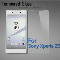Mobile Phone Accessories Toughened Glass Membrance Tempered Screen Protector For Sony Xperia Z5