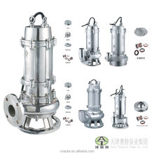 High quality stainless steel submersible sewage pump for industrial draining