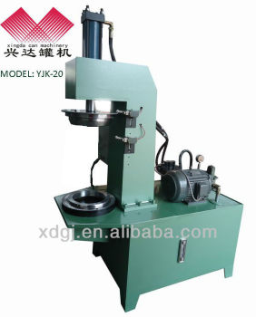 round pail can crimping machine