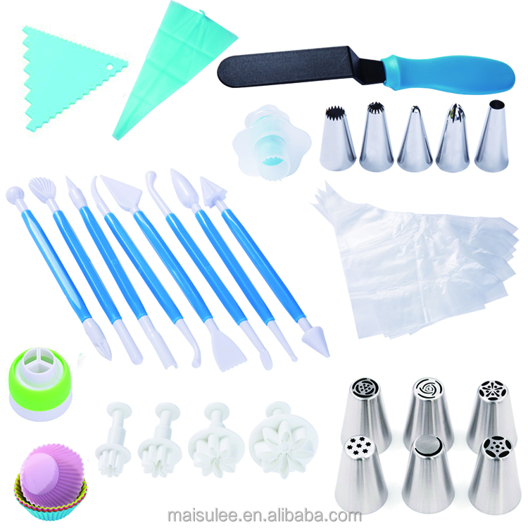 Bulk wholesale Russian Icing Piping Tips/cake decoration supplies/fondant baking tools set