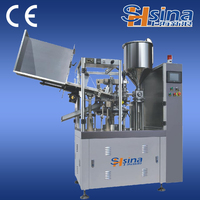 Aluminum Tube Filling And Sealing Machine with Code Printing