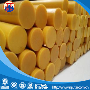 Hot sale various plastic natural nylon rod/ colored nylon rod