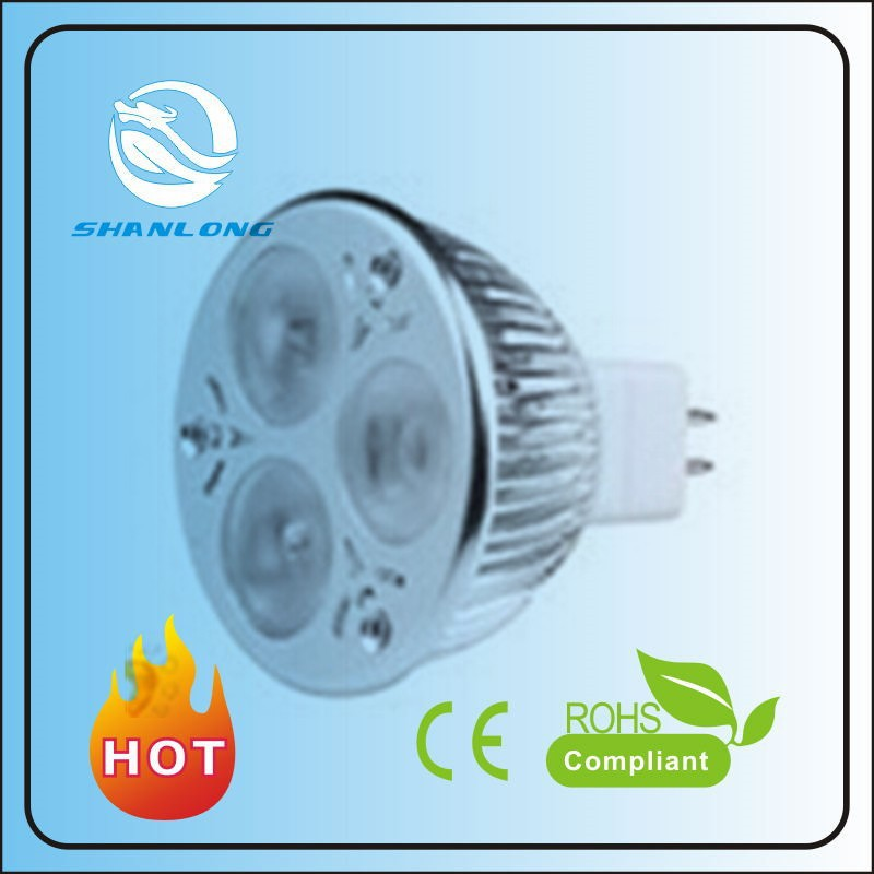 Hot sale high quality 450lm Super Brightness COB 5W led spot light nled spot light mr16 220v