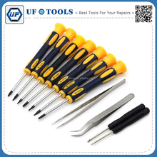 12 pieces precision Torx Screwdrivers Pry Repair Tools Kit Set For computer
