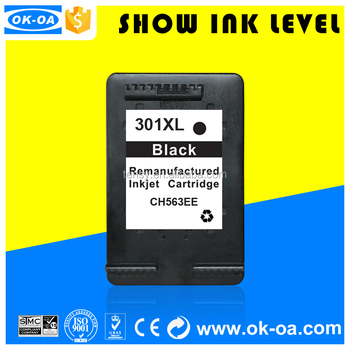 inkjet cartridge for HP 301XL compatible for Envy 4500/3511/officejet 2620