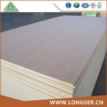Two Times Press Forming 4*8ft Red Beech Veneer Fancy Plywood
