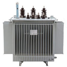 High Stability 10KV-20kv/0.4kv 400kva three phase oil immersed electrical power transformer