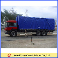 UV resistant and Cold crack truck cover tarpaulin fabric