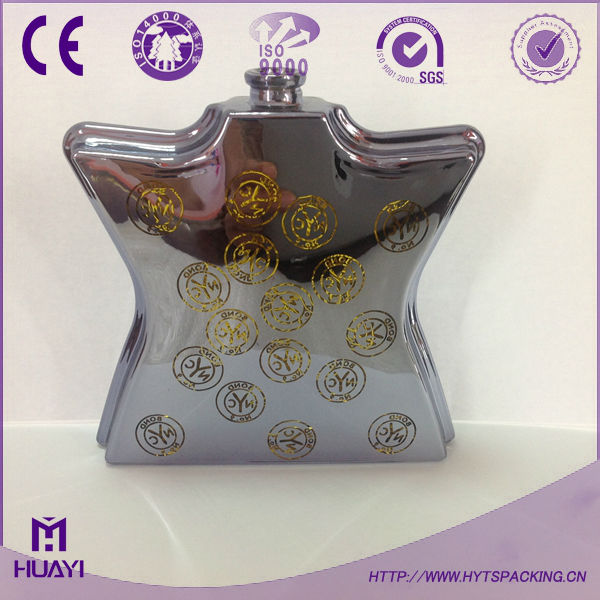 100ml unique design glass perfume bottle