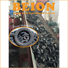 Tyre cutting machine/ tire debeader/ rubber tire recycling machine