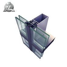 curtain wall glass aluminum profile for sale