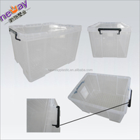 NET70 transparent plastic storage container / storge box