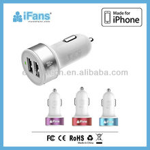 New arrival dual usb car charger,universal charger factory price