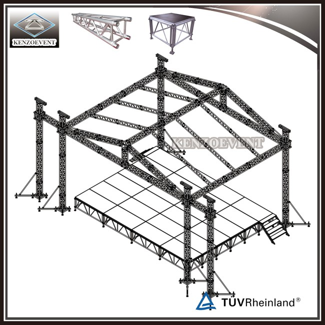 Roof Design For Outdoor Stage Sound System