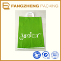 wholesale custom printed logo cheap plastic Handle shopping bag