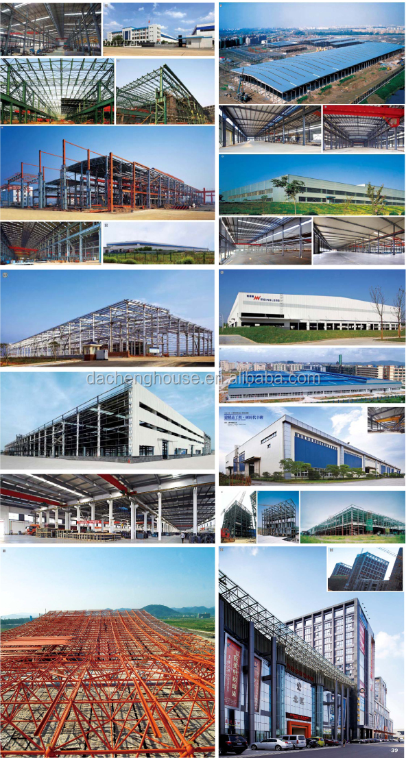 Prefabricated Industrial Shed - steel structure buildings