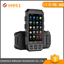 amazing quality wireless 5inch hanaheld rugged ip65 android 4.4.2 pda3501 industrial pda