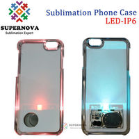 Custom Cell Phone Case with LED Light for iphone 6