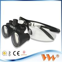 Hospital Use Dental Clinic Magnifying Glass with Light for Medical