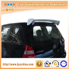 FRP Roof Spoiler For Nissan Tiida 2008~2011 Wing Spoiler with Good Reputation and Long Using Time