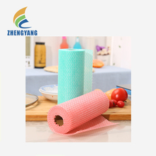 Disposable cheap antibacterial dish cleaning cloth made of non-woven fabric