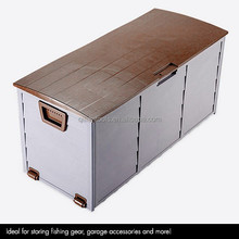 Big capacity utility storage cushion box