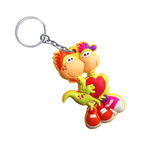 Nice beautiful high quality promotional soft PVC key chain